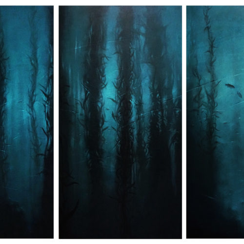tryptique forêt d